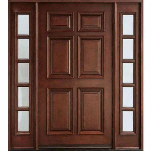 Teak Wood Entry Door