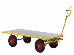 Forcelift Mild Steel Platform Trolley, For Industrial