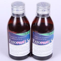Ambroxol HCL, Guaiphenesin & Levosalbutamol Syrup