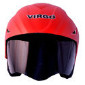 Virgo No. 1 Trek Finger With Cap Open Face Helmet