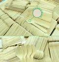 Take away wooden cutlery set
