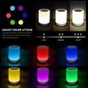 Smart LED Touch Light Bluetooth Speaker