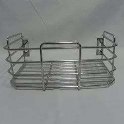 Stainless Steel Wall Mounted Jar / bottle rack stand, For Home,Hotel, Kitchen Appliances