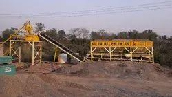 Kalgidhar Fully Automatic Concrete Batching Plant Pan Type Mixer, Model/Type: KI-30