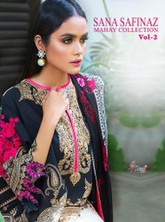 Shree Fabs Sana Safinaz Mahay Collection Vol-2 Pakistani Style Dress Material Catalog