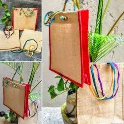 Jute Designer Kantha Handbags, Packaging Type: Packet