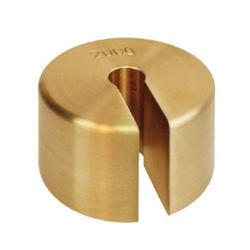 Slotted Brass Weights