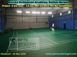 Badminton Synthetic Flooring, 4.5 Mm - 8 Mm