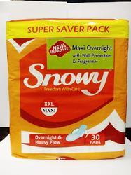 Snowy Maxi Overnight With Protection and Fragrance