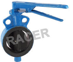 Sandwich Type Cast Steel Butterfly Valve