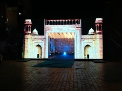 3D LED WALL STAGE BACKDROP DECORATION
