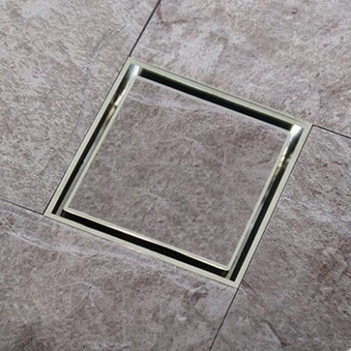 LIDCO Steel Tile Insert Floor Drain, Rs 970 /unit, LIDCO Building Technologies
