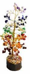 `Eshoppee Big Size Seven Chakra Gemstone Tree, Lapis Lazuli Stone Tree, Amethyst Stone Tree