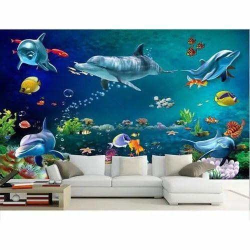 Aquarium 3d Wallpaper