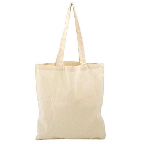 8946cbdea Plain Canvas Grocery Bag, Size: W-38 X H- 40 X 10 (Base) CM, Rs 60 ...