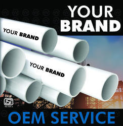 PVC Conduit Pipes and Fittings OEM Service