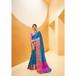 Fancy Silk Weaving Saree