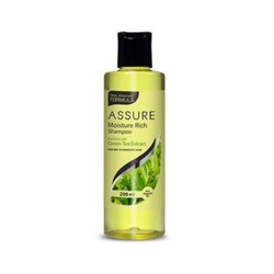 Unisex Green Tea Assure Moisture Rich Shampoo, Packaging Type: Plastic Bottle, Packaging Size: 200ml