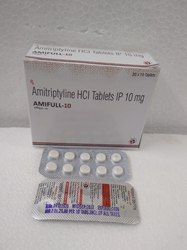 GMP Amitriptyline Hydrochloride Tablet, 10 Mg, Packaging Size: 10x10