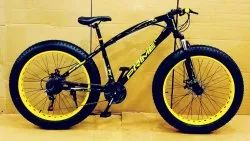PRIME BLACK YELLOW FAT TYRE CYCLE