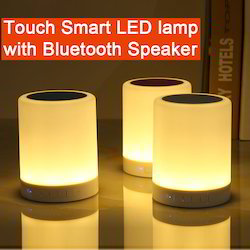 Touch Smart LED Lamp With Bluetooth Speaker, Size: Medium