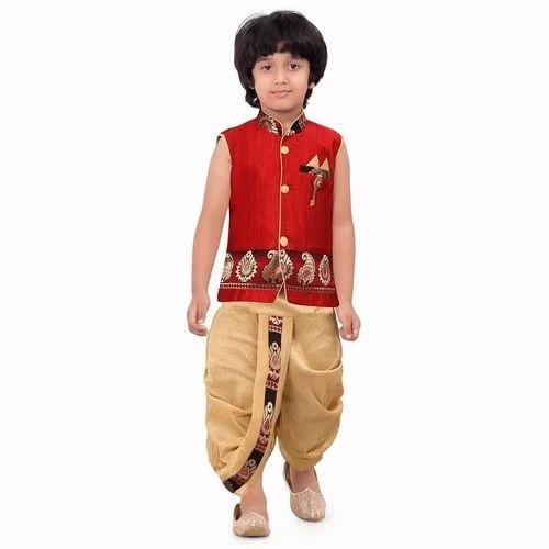 c40f1147743c Printed Kids Dhoti Kurta, Rs 550 /piece, Zoom Garment | ID: 19082785791