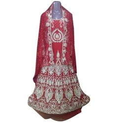 Embroidered NGS ANWAR ARTS Fancy Wedding Dress