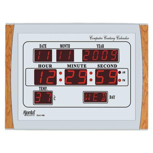 Ajanta Digital Wall Clock Digital Clock Vinod Agency Pune ID