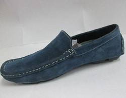 Men's Suede Blue Formal Loafers Shoes