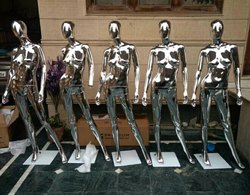Female Chrome Mannequin
