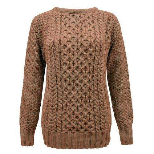 790fc190c7 Ladies Brown Full Sleeves Sweater at Rs 200  piece