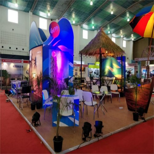 Decoration Wooden Exhibition Support Service, Pan India, Size: 3*5