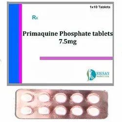 Primaquine Phosphate Tablets IP 7.5 Mg