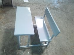 Steel School Bench