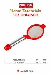 Nirlon Silver Steel Tea Strainers, Home Kitchen Essentials