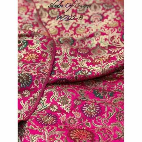 pure banarasi brocade fabric banarasi brocade fabric manufacturers