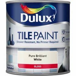 Dulux Pure Brilliant White Tile Paint