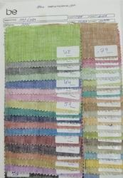 Folder No- 1300 100% Linen Dyed Fabric