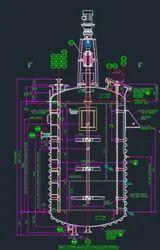 Agitator Fabrication Drawing Service