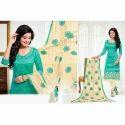 Chanderi Silk Designer Suit