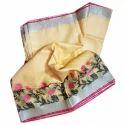 Linen Jamdani Printed Saree