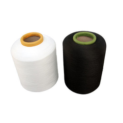 White And Black Nylon Spandex Covered Yarn, Usage: Textile Industry