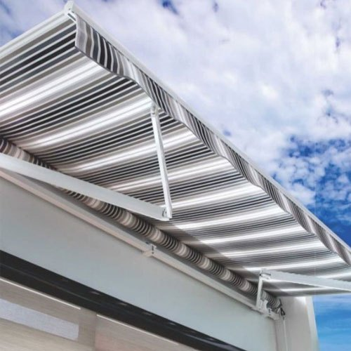 Stainless Steel Horizontal Window Retractable Awning, Rs ...
