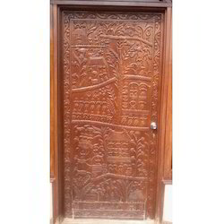 Beautiful Carved Wood Door