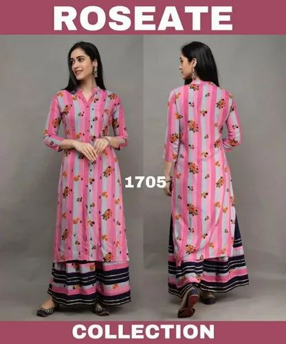Rosette Collection Rayon Kurti