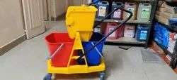 Wringer Trolley Double Bucket 34 Ltr