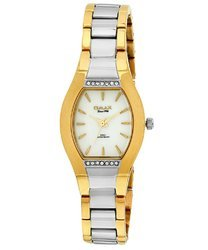 Omax Analog White Dial Women''s Watch - LS199
