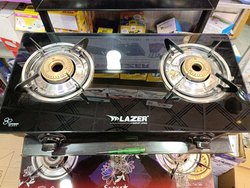 Toughened Glass Two Burner Gas Stove