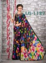 Ladies Printed Satin Saree