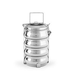 4 Tier SS Lunch Box